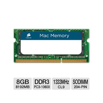 CORSAIR Memória RAM Portátil Mac DDR3, 8 GB