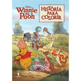 PUBLICAÇÕES DOM QUIXOTE Livro História para Colorir 'Winnie the Pooh'