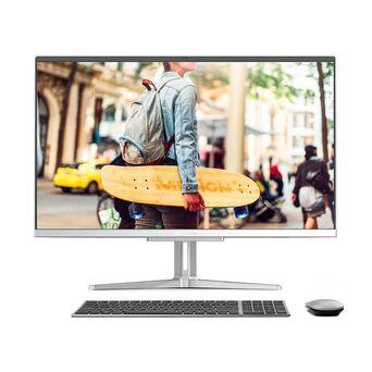 MEDION Desktop All-in-One Akoya® E23403, 23,8'', Intel® Core™ i5-1035G1, 8 GB RAM, 512 GB Disco, Prateado