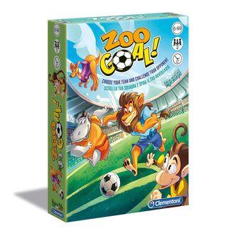 CLEMENTONI Jogo Zoo Goal! - Liga dos Animais, dos 6 aos 99 Anos