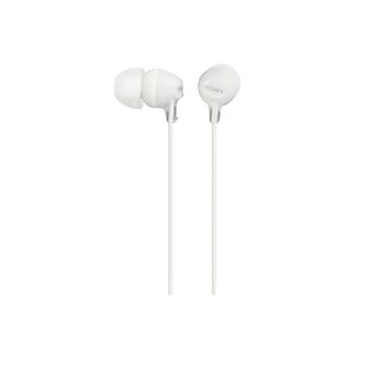 SONY Auriculares in-ear EX15, Diafragma de 9 mm, Branco