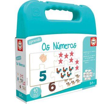 EDUCA Jogo Mala Aprendo Os Números, 3 a 4 Anos