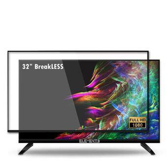 """Televisão LED FHD ELT32DEBR9, 32"""", Preto"""