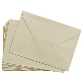 Staples Envelope Decorativo Foto Vista Pergaminho, 176 x 120 mm, Bege