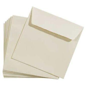 Staples Envelope Decorativo, 160 x 165 mm, Bege