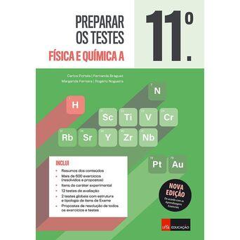 LEYA Livro 'Preparar os Testes - Física e Química A' – 11º Ano