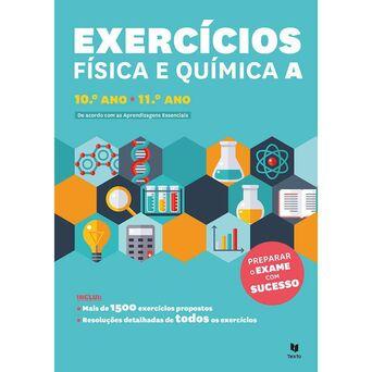 LEYA Livro 'Exercícios Física e Química A' – 10 e 11º Ano