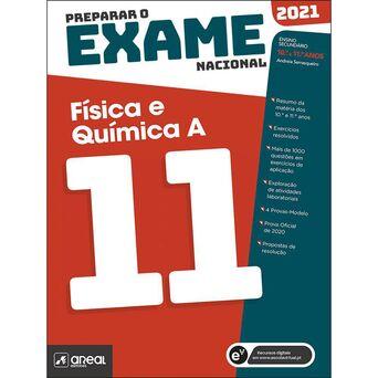 PORTO EDITORA Livro 'Preparar o Exame Nacional: Física e Química' – 10 + 11º Anos