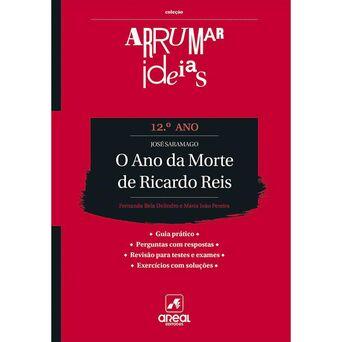 PORTO EDITORA Livro 'Arrumar Ideias – O Ano da Morte de Ricardo Reis' – 12º Ano
