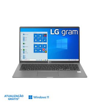 """LG Portátil 15Z90N-H.AP57P, 15 """", Intel® Core™ i5-1035G7 10ª. Ger., 16 GB RAM, 512 GB SSD, Cinzento"""