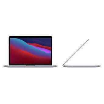 "APPLE Portátil MacBook Pro 2020 M1, 13"", Apple M1 CPU 8-Core, GPU 8-Core, 8 GB RAM, 256 GB SSD, Cinzento"