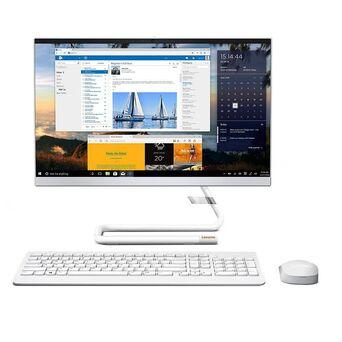 "Lenovo Desktop All-in-One IdeaCentre 22ADA05-366, 22"", AMD Athlon™ Silver 3050U, 4 GB RAM, 256 GB SSD, Branco"