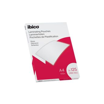 ibico Bolsa de Plastificação Gloss, A4, 125 mícrones