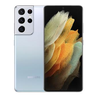 """SAMSUNG Smartphone Galaxy S21 Ultra 5G, 6,8"""", Exynos 2100, 128 GB ROM, Prateado"""