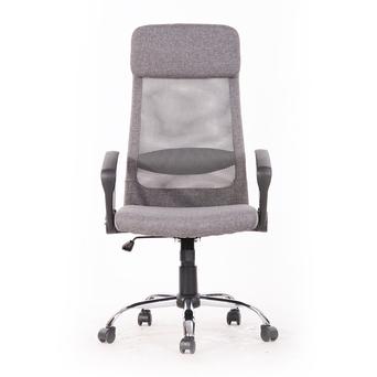 Cadeira Operativa Edeline, Tecido, Cinzento