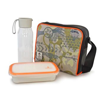 SMARTLUNCH Lancheira Pack On-the-Go Camu, 1 Marmita e 1 Garrafa 500 ml