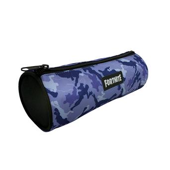 Estojo Cilídrico Fortnite, Azul