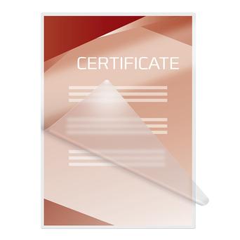 GBC Bolsa de Plastificação Document™ A4, 37,5 µ, Transparente