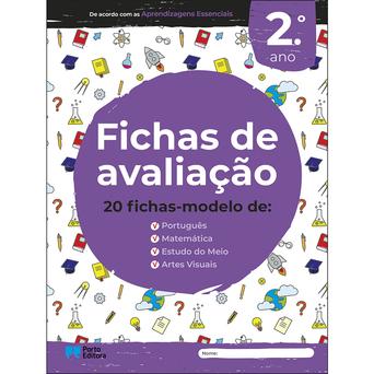 PORTO EDITORA Livro 'Fichas de Avaliação', Multidisciplinar, 2º. Ano