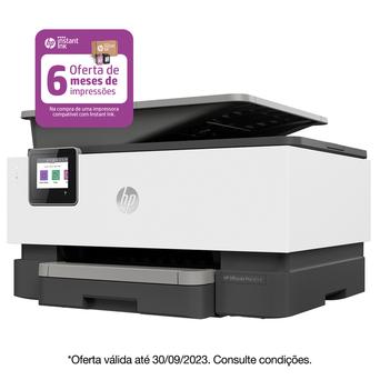 HP Multifunções Jato de Tinta OfficeJet Pro 9014e, A4, Wi-Fi