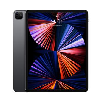 """APPLE iPad Pro 2021 Wi-Fi + Cellular, 12,9"""", M1: CPU 8-Core, 2 TB, Cinzento"""