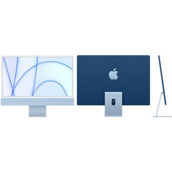 """APPLE iMac 21, 24"""", M1 CPU 8‑core e 8-GPU, 8 GB RAM, 512 GB SSD, Azul"""