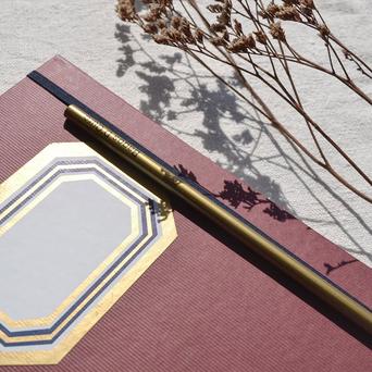FIRMO Caderno Solidário Bagos d'Ouro, 165 x 210 mm, 96 Folhas, Pautado