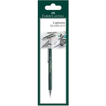 FABER-CASTELL Lapiseira TK-FINE 9719, Minas HB de 1 mm, Corpo Verde
