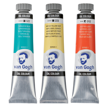 VAN GOGH Óleo S1, 20 ml, Branco Titanio (105)