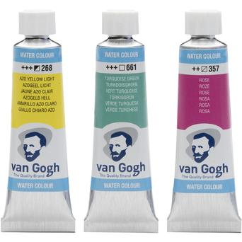 VAN GOGH Aguarela, 10 ml, Laca Granza Escuro (331)