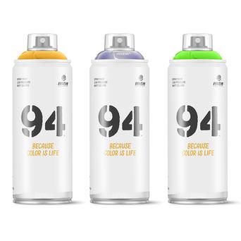 Tinta em Spray 94 RV-47, 400 ml, Vermelho Clandestine
