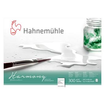 Hahnemuehle Bloco Aguarela Harmony, A3, 300 g/m2 Grão Satinado, 12 Folhas