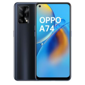 """OPPO Smartphone A74, 6,43"""", Qualcomm® Snapdragon™ 662 8-Core, 128 GB, Preto"""