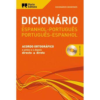 PORTO EDITORA Dicionário Moderno de Espanhol-Português / Português-Espanhol