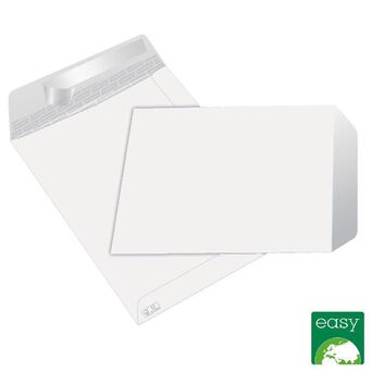 Staples Envelope Comercial, International C5, 162 x 229 mm, Autocolante, Papel, Branco